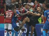 Aficionados del Nice agredieron a jugadores del Olympique