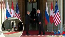 """(VIDEO) """"Se fue de volada"""": Así fue como el presidente suizo presentó a Biden y Putin para su histórica reunión"""