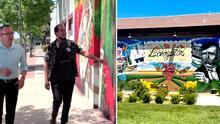 Murales de la diversidad: hijo de campesina del Valle plasma su arte en murallas de la ciudad