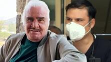 Vicente Fernández es alimentado por sonda vía estómago y continúa con sus terapias de rehabilitación
