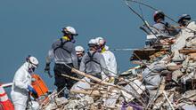 """Demolerán """"inmediatamente"""" el último edificio de Champlain Towers de Miami por temor a los vientos de la tormenta Elsa"""
