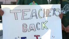Continúan sin respuesta oficial los 17 maestros y asistentes despedidos de escuela en Los Ángeles