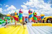 La casa de brincos más grande del mundo vuelve a Texas
