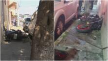 Choque de motocicleta: dos jóvenes murieron y otro está grave, la policía huyó del lugar