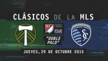 Clásicos MLS: El gol que sacudió los dos palos, Portland vs Sporting Kansas City