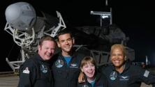 SpaceX: ¿quiénes son los cuatro tripulantes civiles que integran la misión Inspiration4?