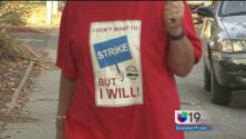 Inicia la huelga de maestros en Yuba City