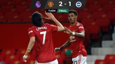 El United gana y se mantiene segundo en la Premier