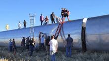 Al menos tres muertos y decenas de heridos por el descarrilamiento de un tren de Amtrak en Montana