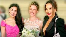 Altair Jarabo se casó y entre sus invitadas tuvo a sus amigas actrices de la telenovela 'Código Postal'