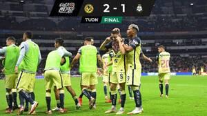 ¡Al estilo Solari! Sobre el final, América vence a Santos Laguna