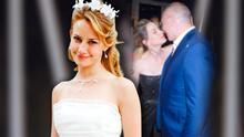 Altair Jarabo demostró que para el amor no hay edad al casarse con un hombre mayor