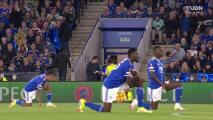 Resumen del partido Leicester City vs Napoli