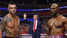 Donald Trump trabajará como analista de boxeo durante cartelera en el 20 aniversario del 11 de Septiembre