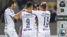 Pumas vence 3-1 a Tampico Madero y clasifica a Octavos en la Copa MX