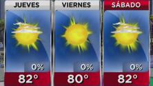 Cielo ligeramente nublado y calor para este jueves en Los Ángeles