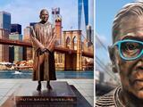 Inauguran estatua de la jueza Ruth Bader Ginsburg en Brooklyn