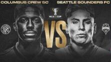 Columbus Crew y Seattle Sounders por la gloria de la MLS Cup