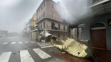 Habilitan albergues en Nueva Orleans, Louisiana, por inundaciones y efectos del huracán Ida