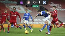 Brighton sorprende al Liverpool y le propina sorpresiva derrota