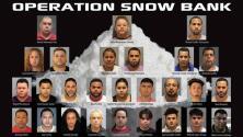 Arrestan a cinco presuntos integrantes de la MS-13 en Plainfield, Nueva Jersey