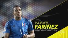 Wuilker Fariñez, reconocido como Jugador Revelación del Año