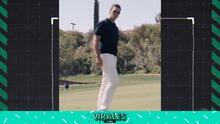 Tom Brady demuestra su increíble precisión jugando al golf