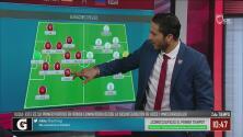 La clase magistral de Aldo de Nigris en los primeros 45 minutos del España vs Rusia