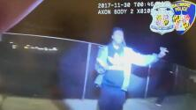 Agente de policía acaba herido de bala durante un forcejeo con un arrestado