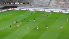 ¡GOL!  anota para Arsenal. Pierre-Emerick Aubameyang