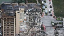 Lo que pudo haber ocasionado el colapso del edificio Champlain Towers en Surfside, según experto
