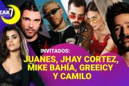 Clarissa Molina en El Break de las 7 con los protagonistas de Latin GRAMMY 2020