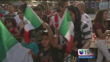 El capitolio estatal se inundó de mexicanos para dar el grito de independencia