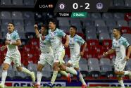 Resumen | Mazatlán sorprende y vence 0-2 a Cruz Azul