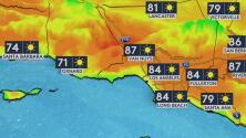 Condiciones secas y cielos despejados, lo que le espera a Los Ángeles la noche de este jueves