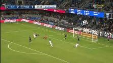 Con hermoso pase filtrado y mágica definición Cristian Techera empata el partido, San Jose 2-2 Vancouver