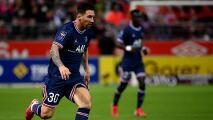 ¡Primera marca de Messi con el PSG! Solo le bastaron 24 minutos