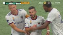 ¡Una joya! Felipe Martins con un zapatazo anota el 2-1 para DC United