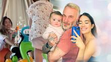 Sharon Fonseca derrite de amor al mostrar los primeros tiernos pasos de Blu (con caída incluida)