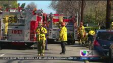 Dos muertos por incendio en garage
