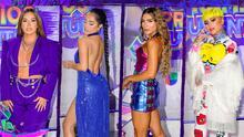 La lista de las mejor vestidas de la alfombra de Premios Juventud