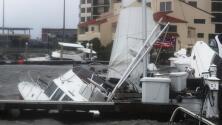 Inundaciones y destrozos, los estragos del huracán Sally en su paso por Alabama y Mississippi