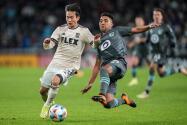 El resumen: LAFC no puede mantener la ventaja y empata en la casa de los 'Loons'