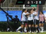 La selección argentina termina gira en México con triunfo ante Chivas Femenil