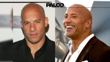 Vin Diesel vs 'The Rock' ¿Quién es mejor?