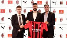 AC Milan hace oficial el fichaje de Olivier Giroud