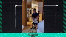 Hijos de Messi bailan canción inspirada en su papá