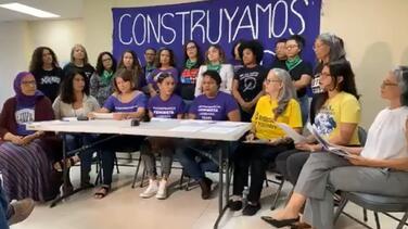 Líderes feministas convocan marcha hasta La Fortaleza