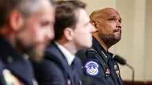 """""""Fuimos golpeados, pateados"""": los testimonios de cuatro oficiales que vivieron el asalto al Capitolio"""