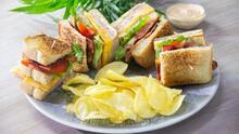 El club sándwich perfecto ¡en 10 minutos!